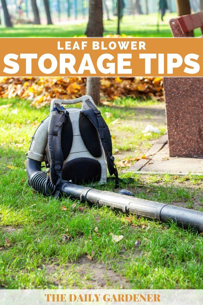 Leaf Blower Storage 2