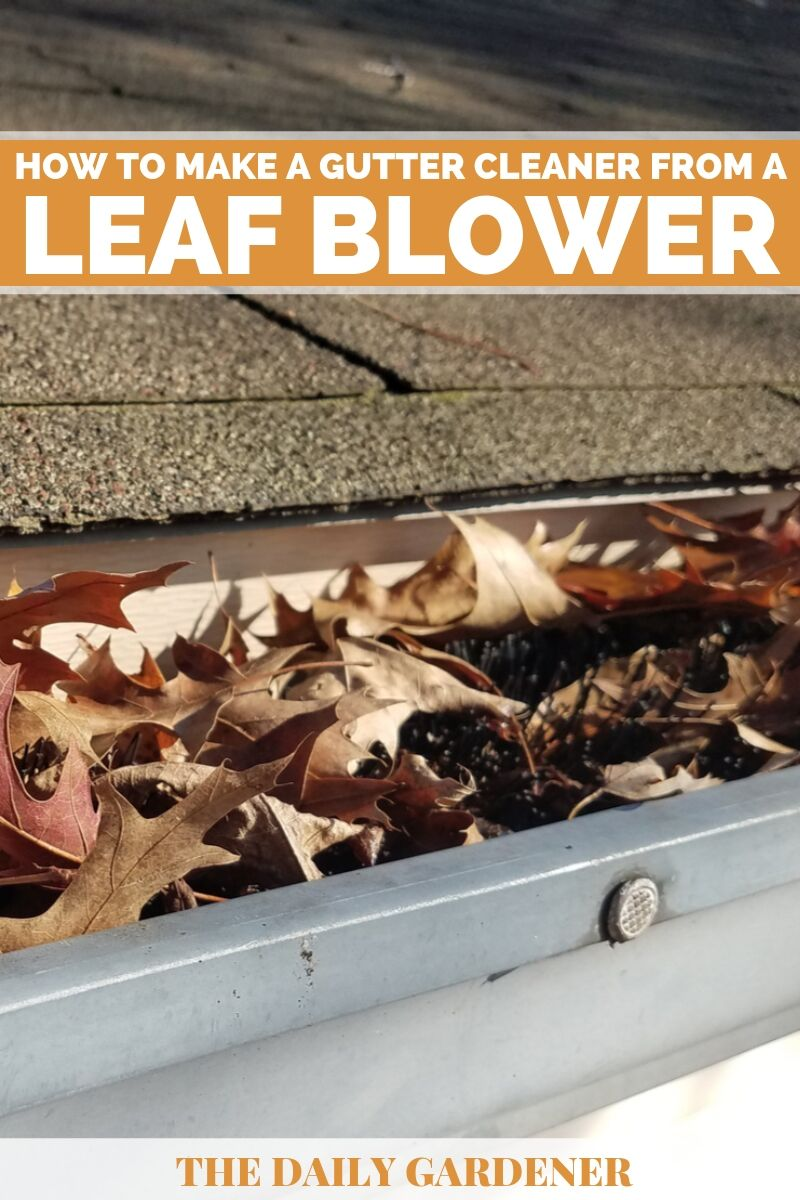 Make a Gutter Cleaner from a Leaf Blower 2