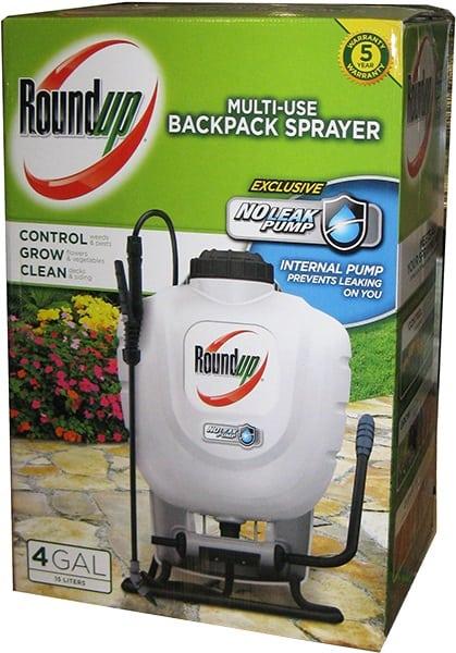 Roundup Backpack Sprayer