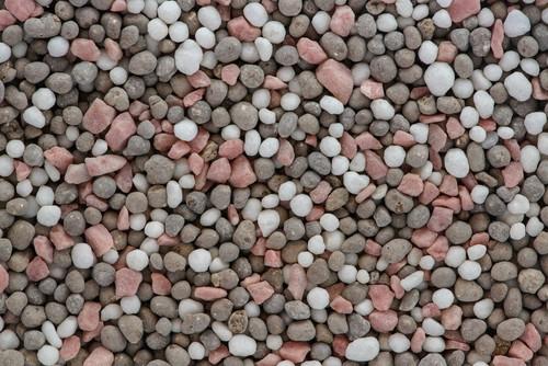 Synthetic lawn fertilizer