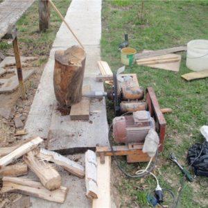 The Unicorn Homemade Log Splitter Plan