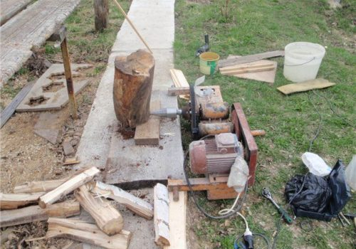 11 Homemade Log Splitter Plans You Can DIY Easily