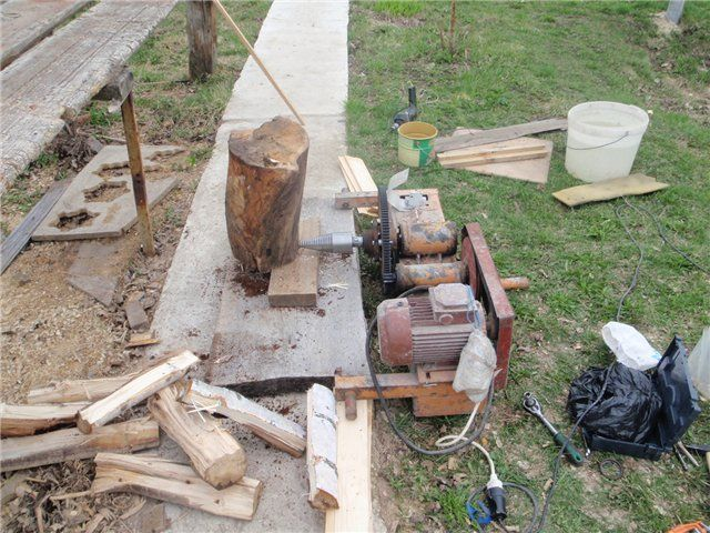 The Unicorn Homemade Log Splitter Plan