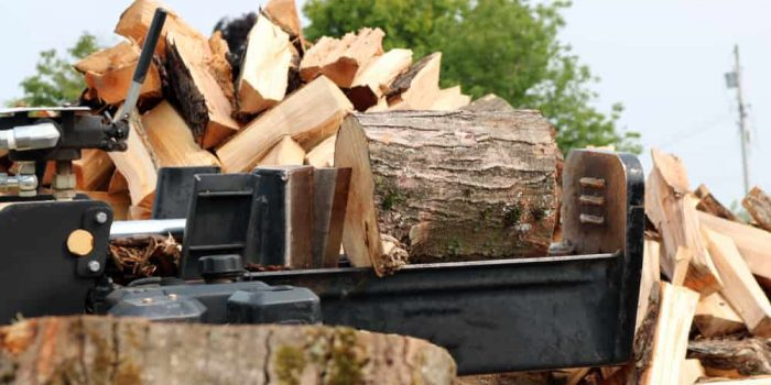 best gas log splitter