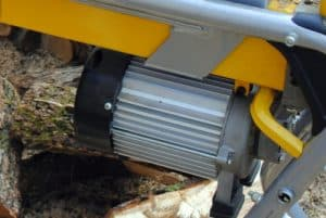 commercial log splitter engine