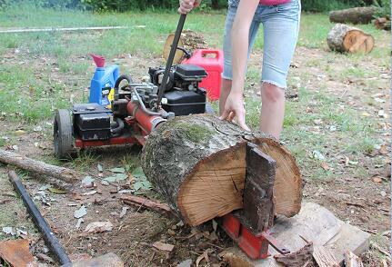 Gas Log Splitter