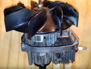 gas leaf blower power