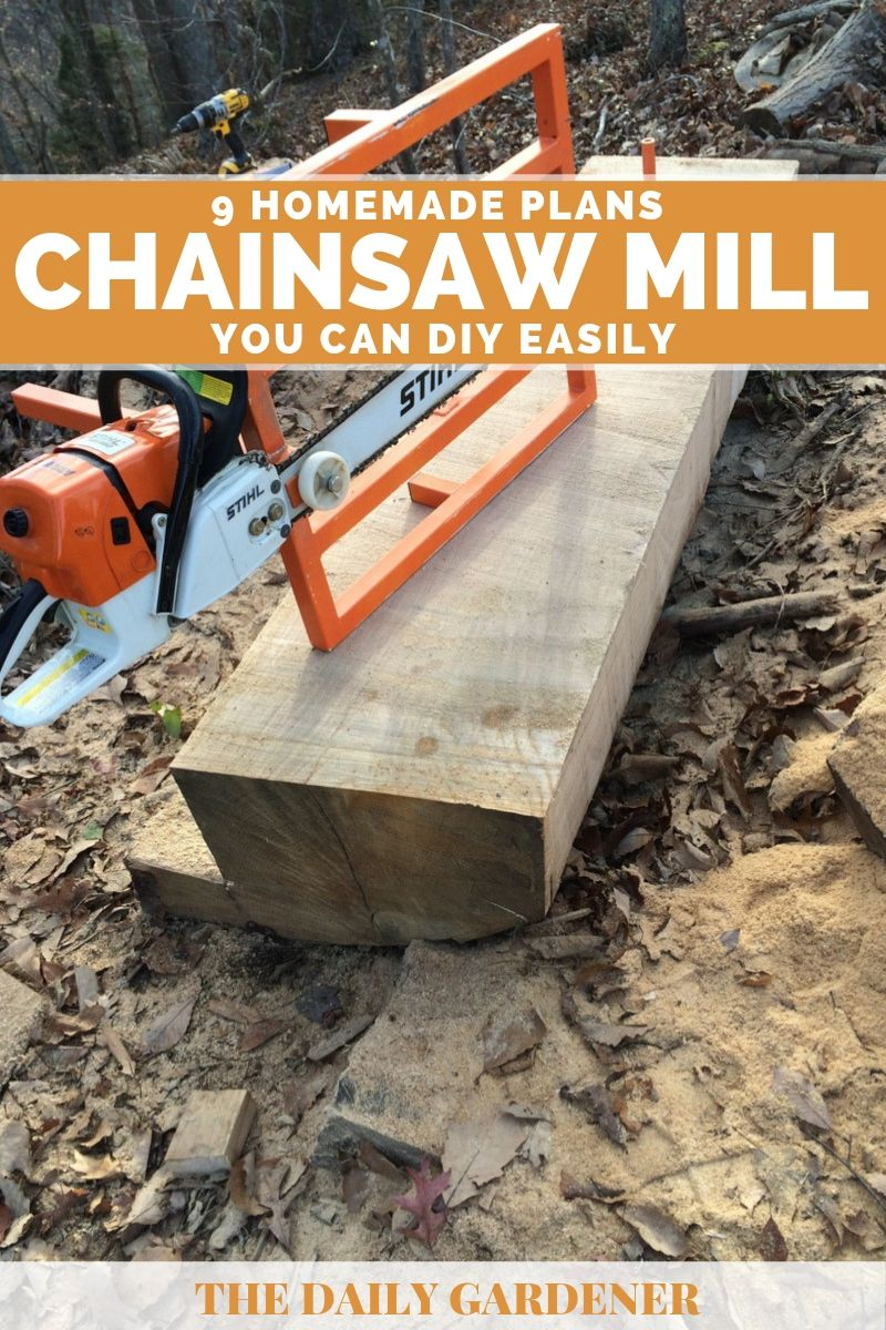 homemade chainsaw mill plans 2