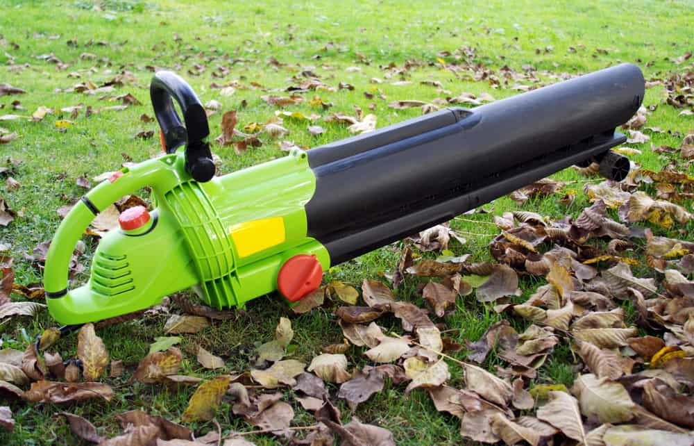 how to store leaf blower