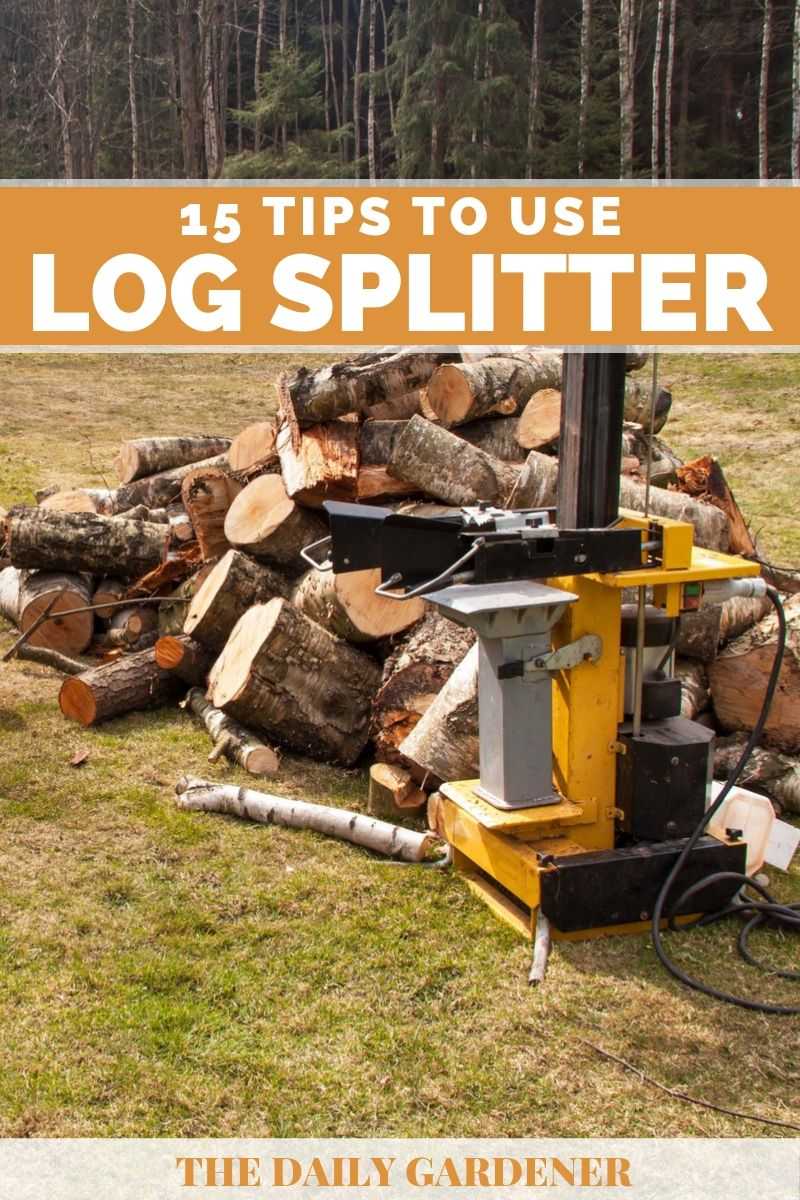 how to use log splitter 1