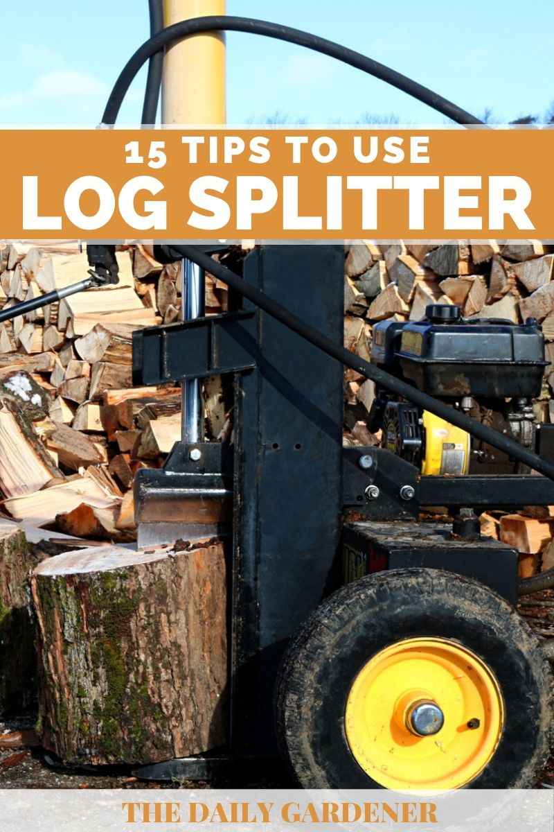 how to use log splitter 2