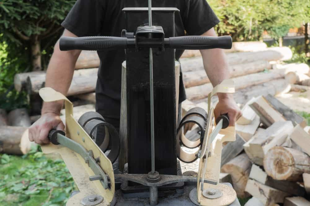 kinetic log splitter review