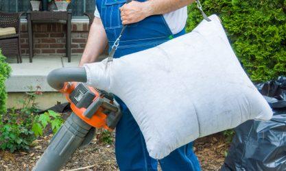 leaf blower vacuum Mulching Ratio