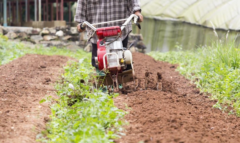 mini tiller for garden