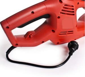 Corded pole hedge trimmer