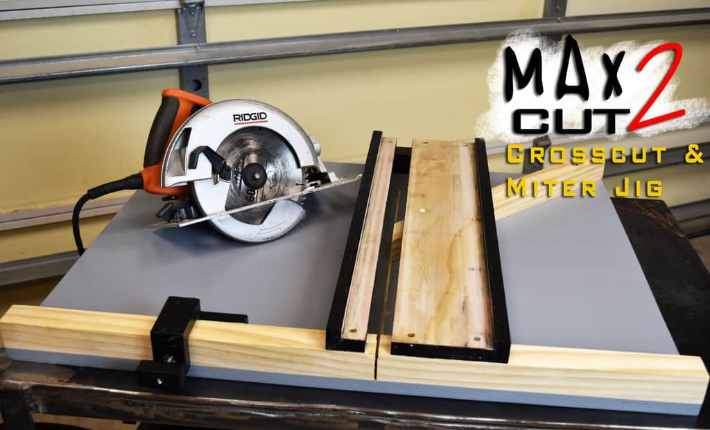 Crosscut and miter jig