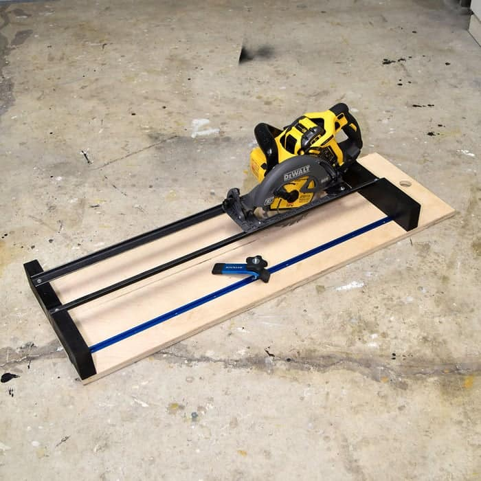 Crosscut and router jig