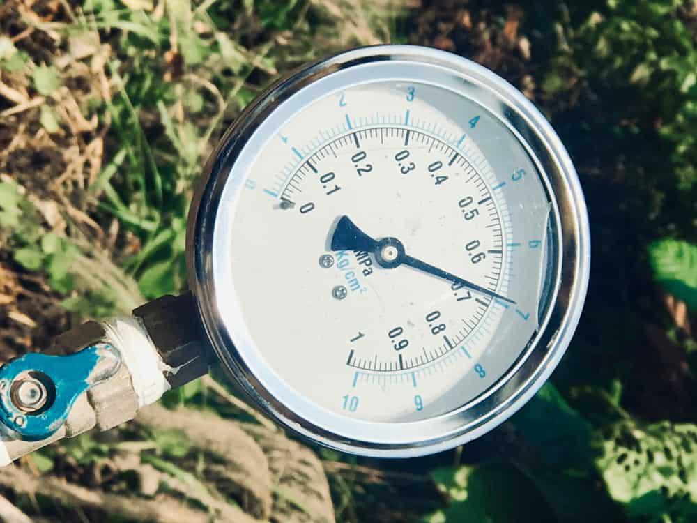Determine water pressure