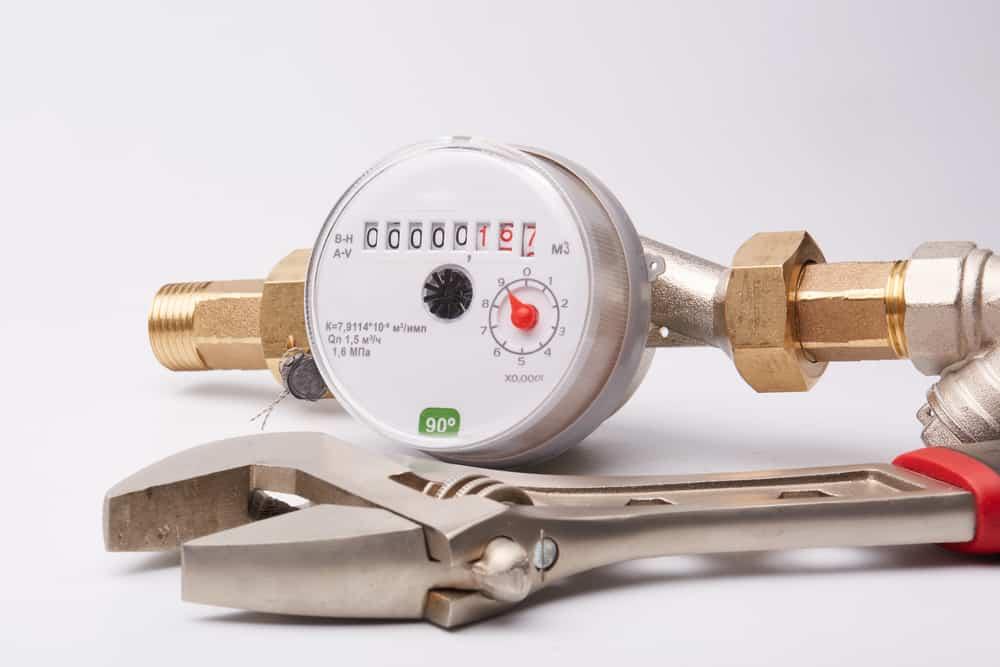 Determining water meter size