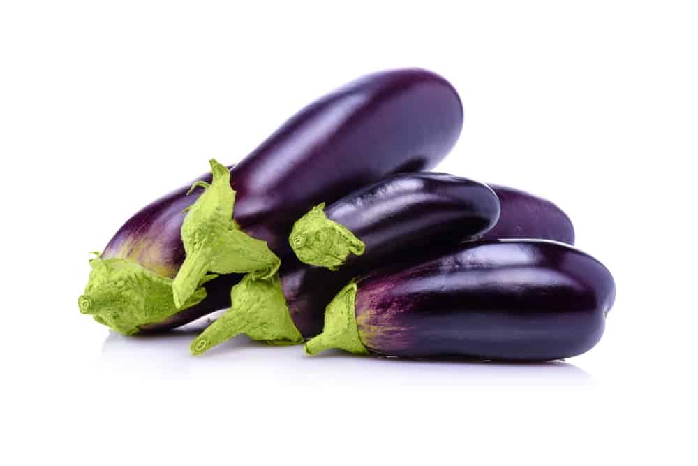 Eggplants Storing