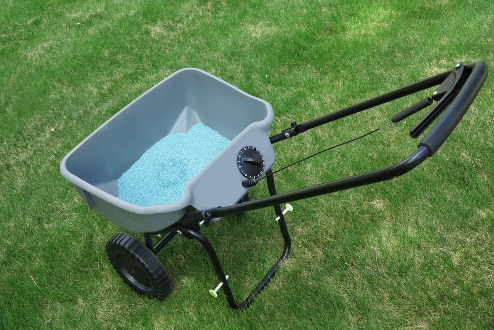 Fertilizer Spreader versatility