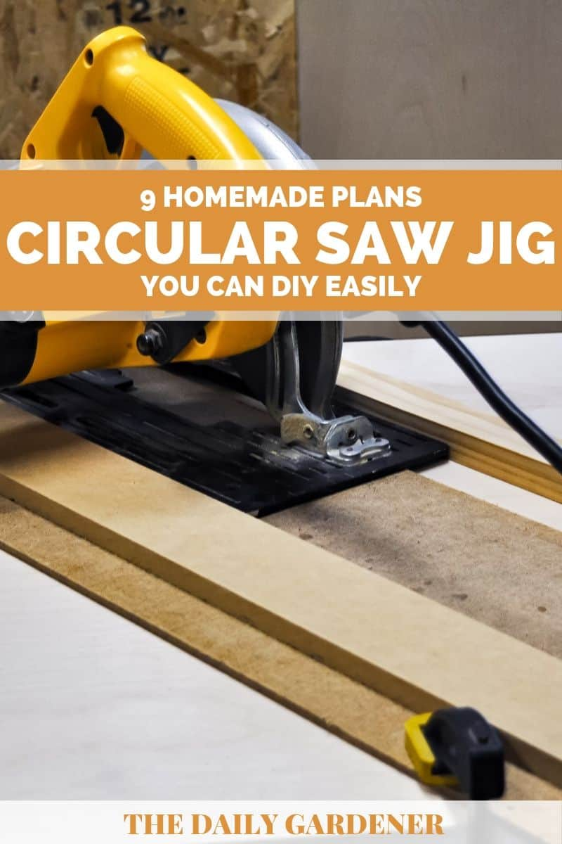Homemade Circular Saw Jig Plans 1