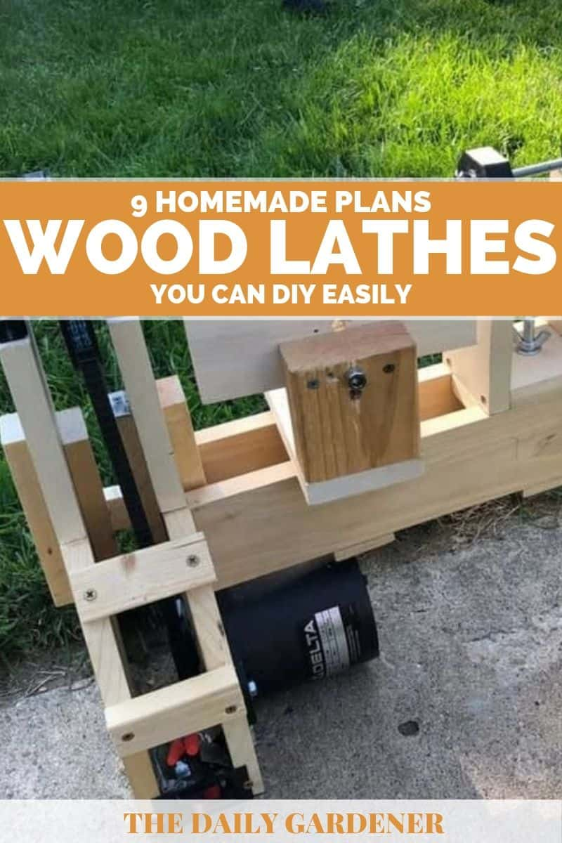Homemade Wood Lathes Plans 1