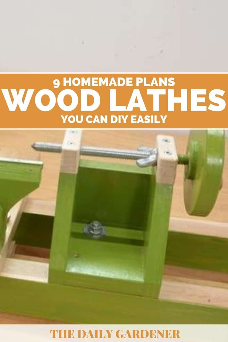 Homemade Wood Lathes Plans 2