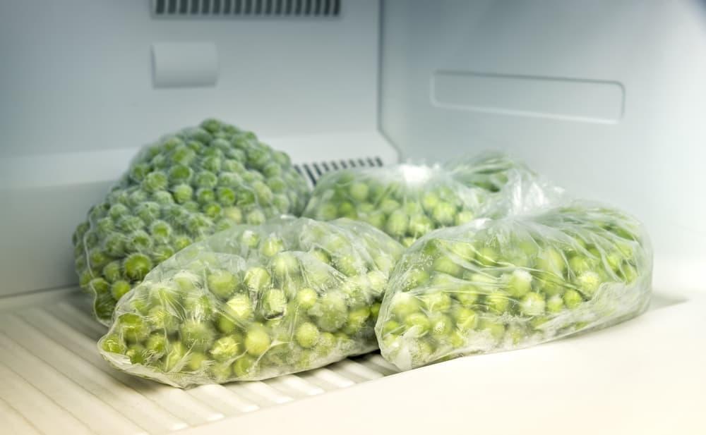 Into the freezer