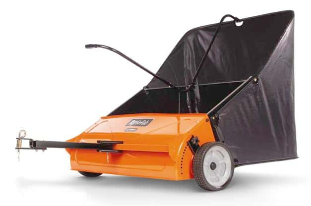 Push Lawn Sweeper Vs. Tow Lawn Sweeper
