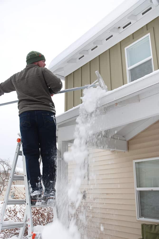 Snow Roof Rake size