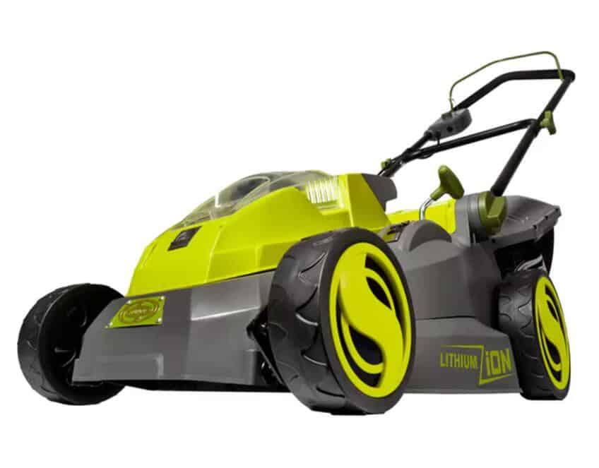 Sun Joe cordless lawn mower