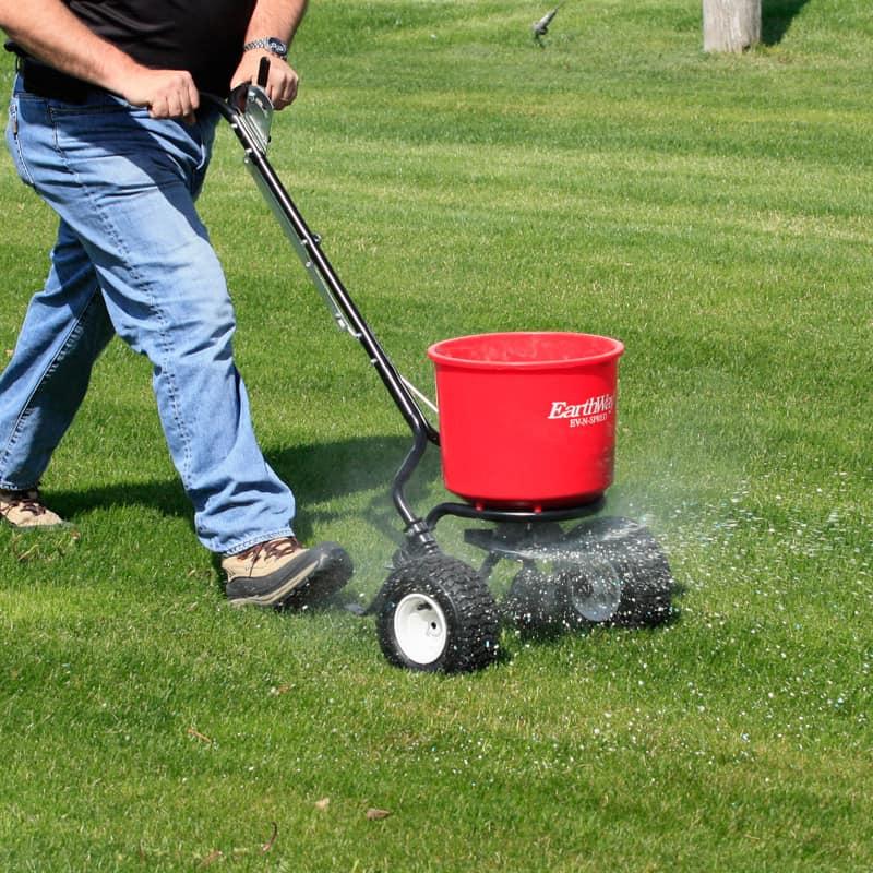 earthway fertilizer spreader