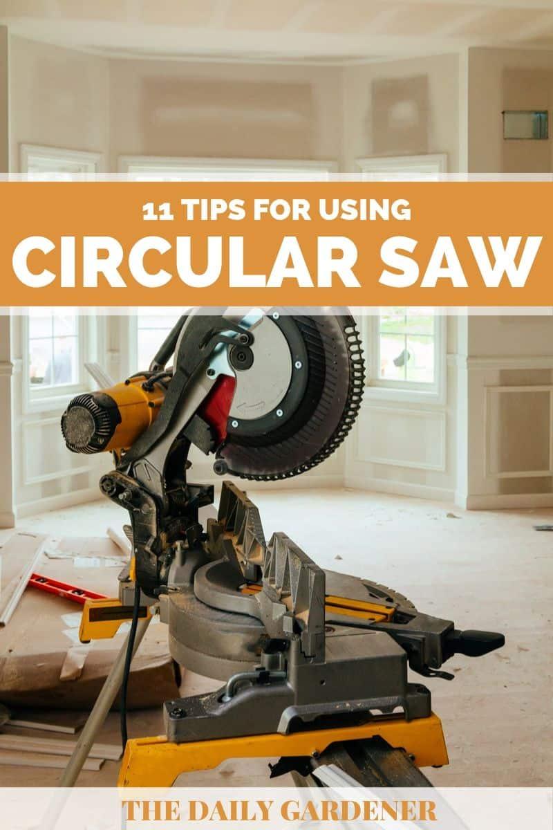 how to use circular saw 2
