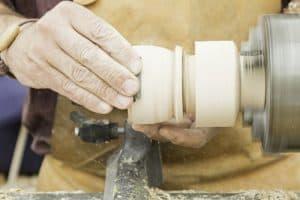 wood lathe Reverse Spin