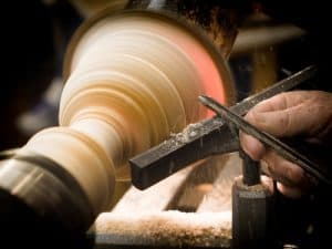 wood lathe speed