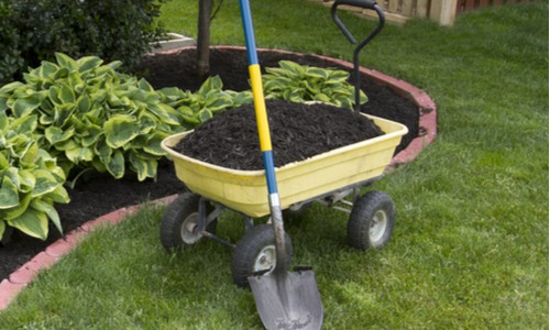 4 wheel wheelbarrow