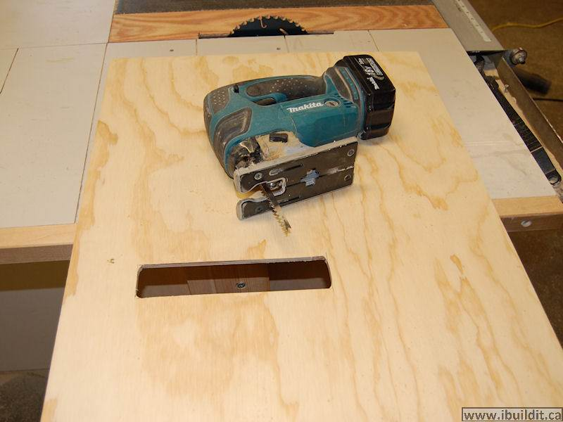 "A ""more professional"" DIY table saw"