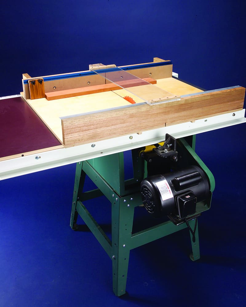 An Improved Crosscut Sled for More Accurate Cuts