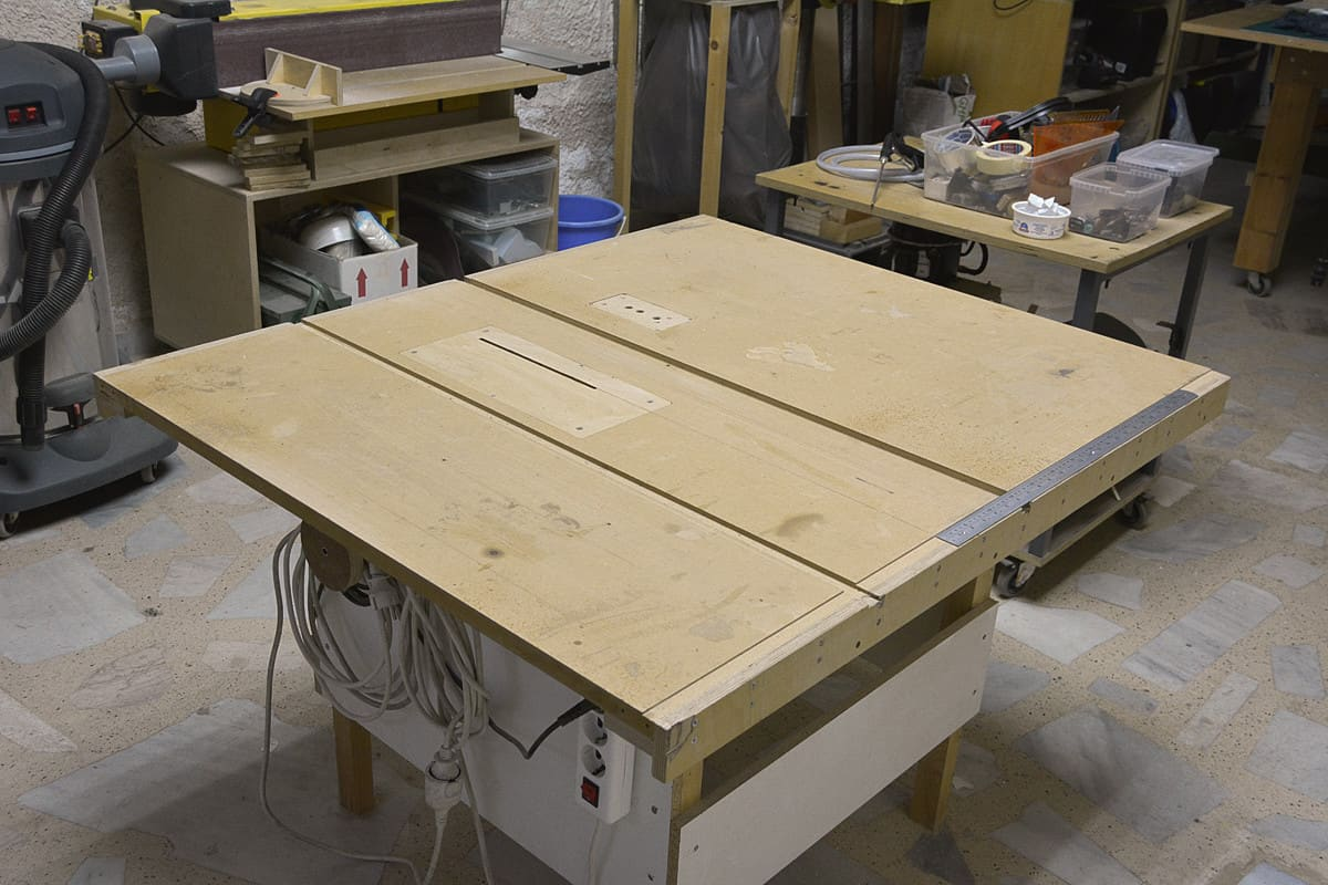 High-quality DIY table saw plan