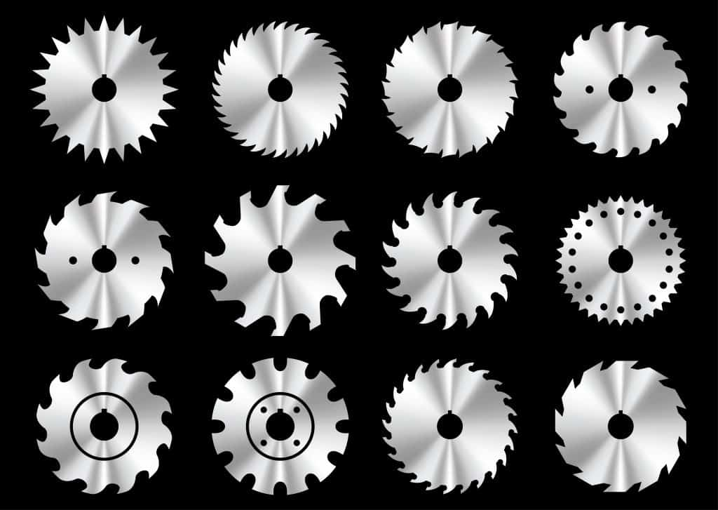 The different features of a saw blade