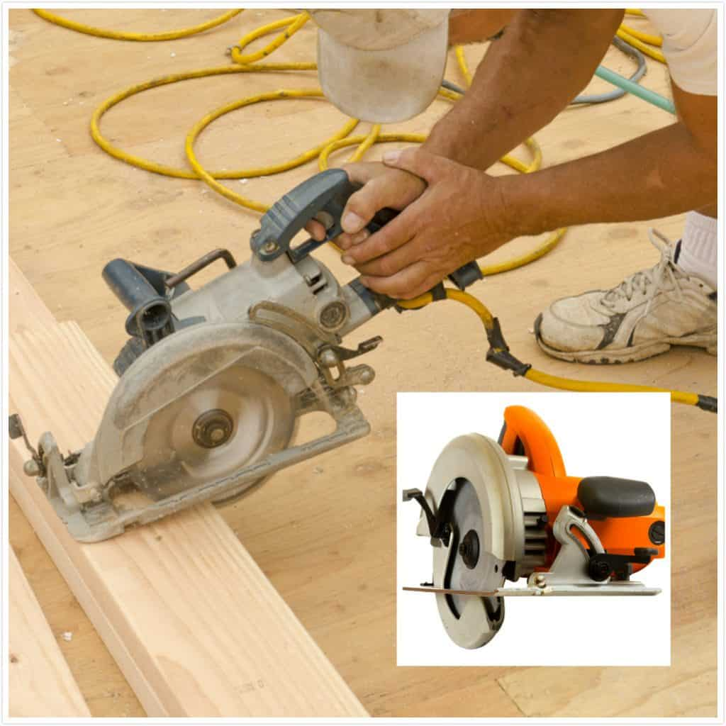 What's the difference between a worm drive saw and a sidewinder