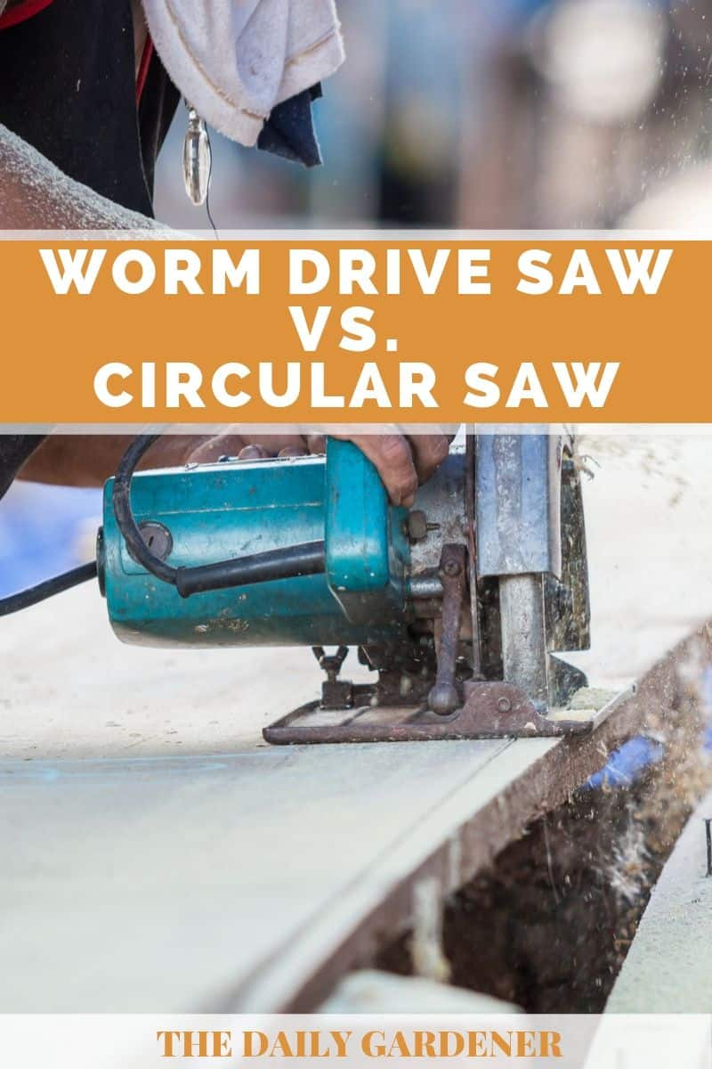 Worm Drive Saw vs. Circular Saw 4