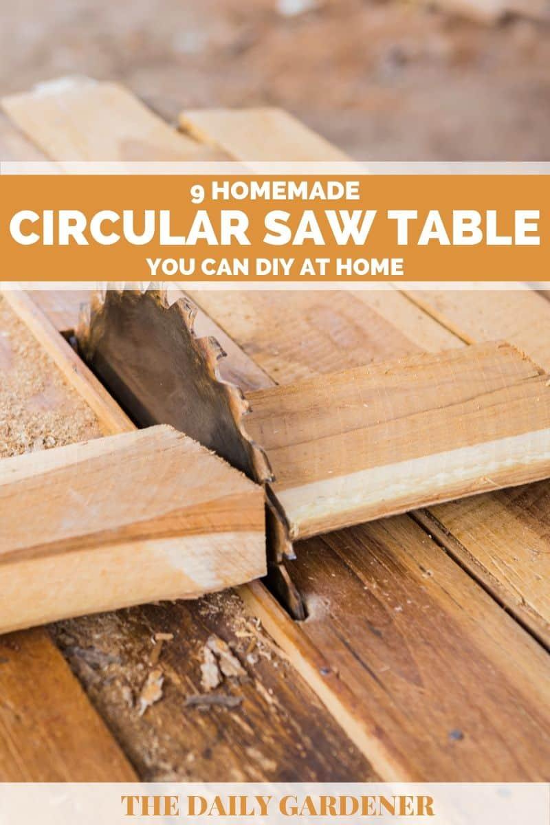 homemade circular saw table plans 4