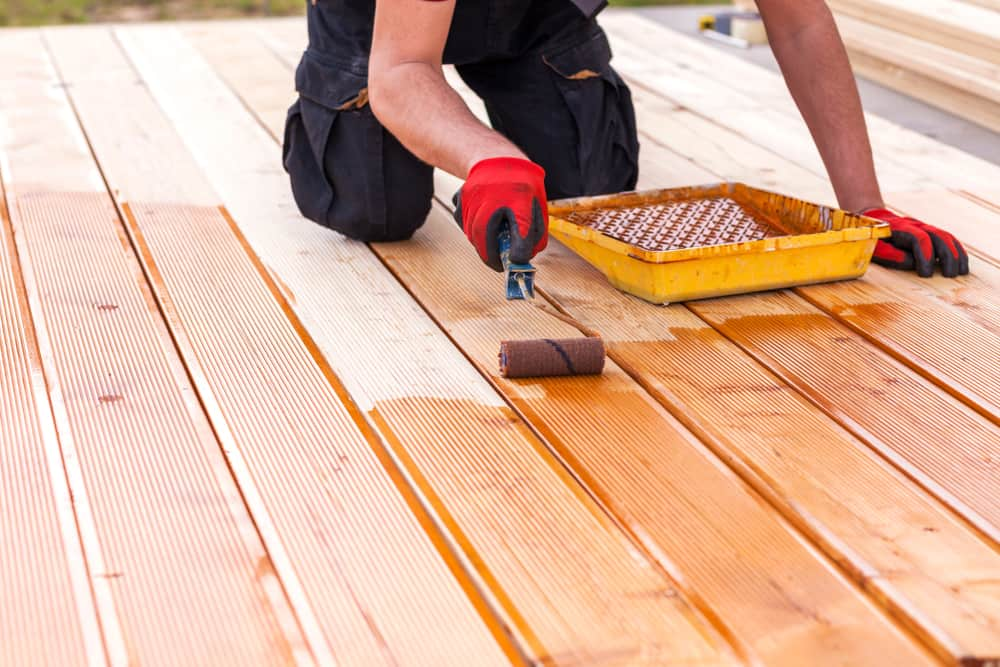 stains for decking