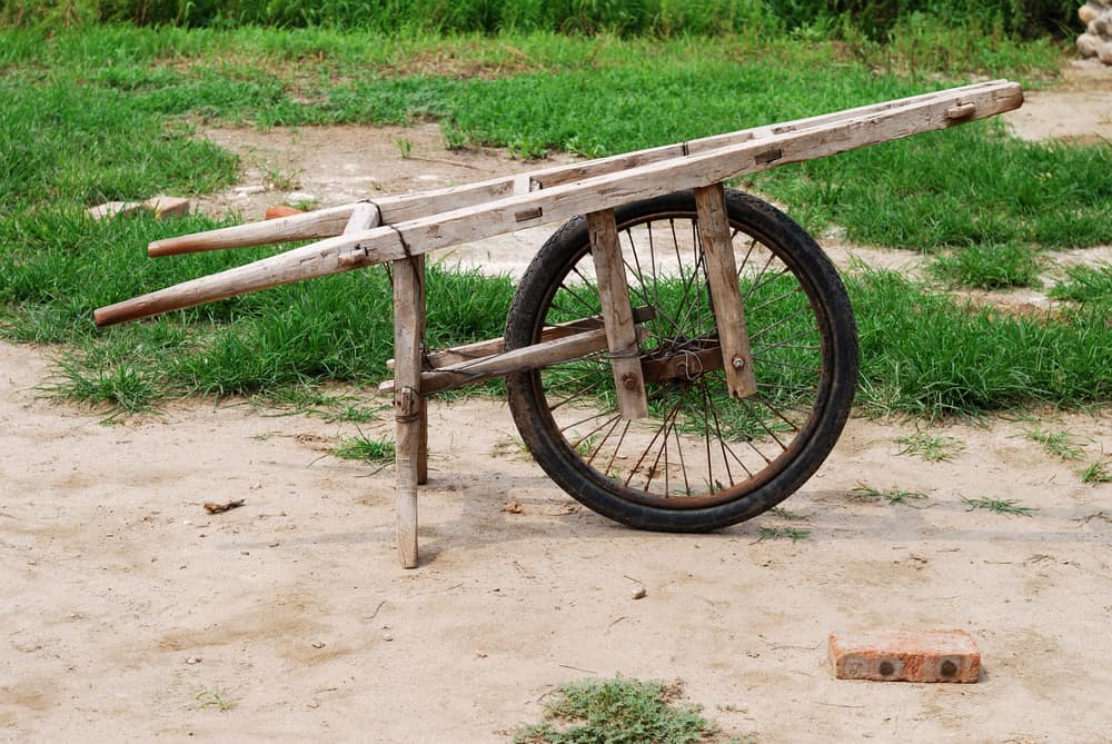 Ancient Chinese wheelbarrow Legend or the truth