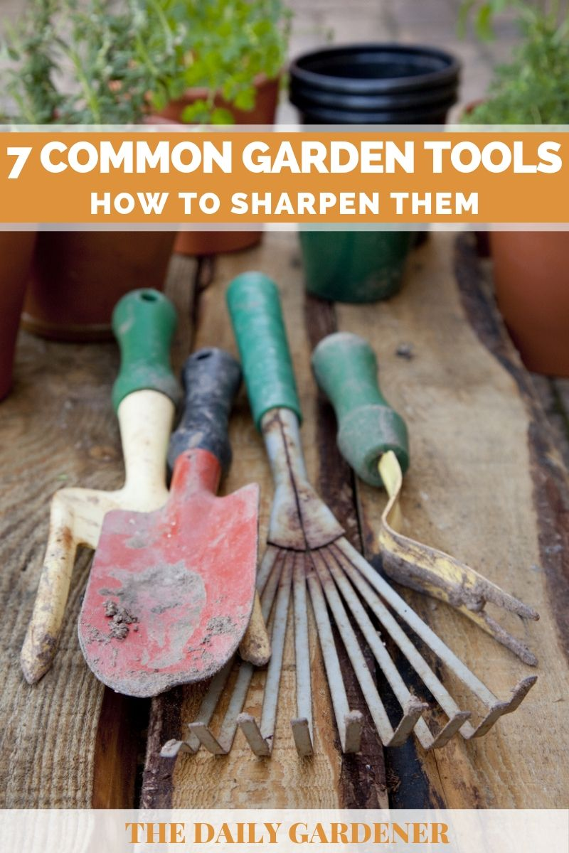 Common Garden Tools pin