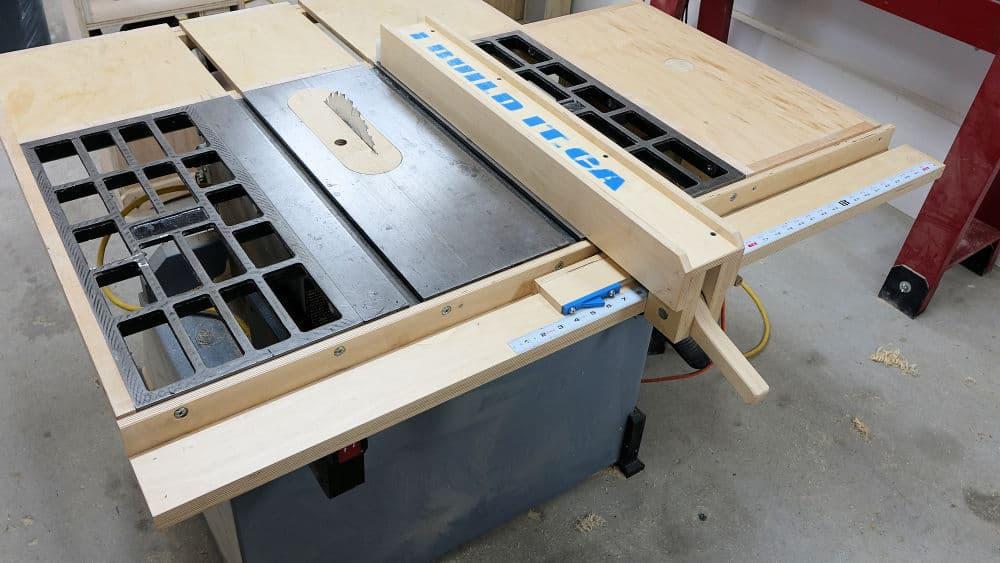 DIY Table Saw Fence to Save a Few Bucks
