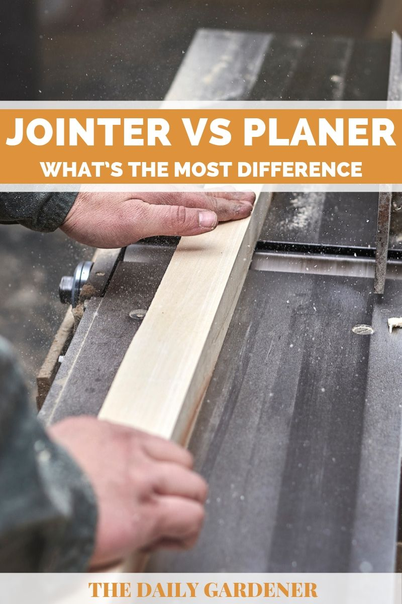 Jointer vs Planer 1