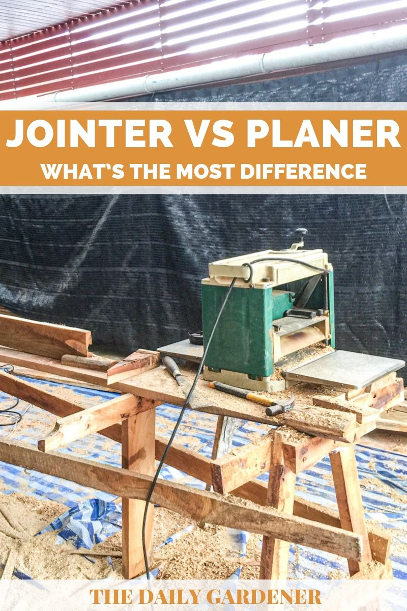 Jointer vs Planer 2